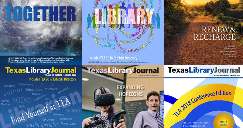 CTA Image for Advertise in the Texas Library Journal