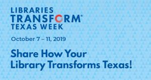 Libraries Transform Texas Week