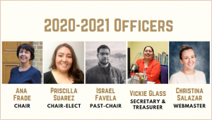 2020 2021 Latino Caucus RT Officers
